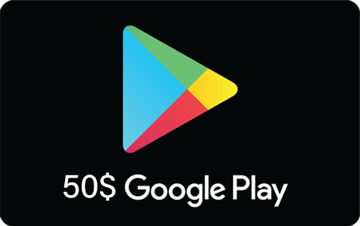 تصویر از گوگل پلی 50 دلاری